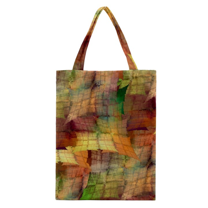 Indian Summer Funny Check Classic Tote Bag