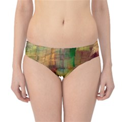 Indian Summer Funny Check Hipster Bikini Bottoms by designworld65