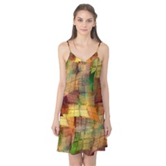 Indian Summer Funny Check Camis Nightgown