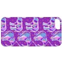 Cute Violet Elephants Pattern Apple iPhone 5 Classic Hardshell Case View1