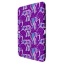 Cute Violet Elephants Pattern Samsung Galaxy Tab 3 (10.1 ) P5200 Hardshell Case  View3