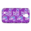 Cute Violet Elephants Pattern Samsung Galaxy S4 Classic Hardshell Case (PC+Silicone) View1