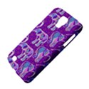 Cute Violet Elephants Pattern Galaxy S4 Active View4