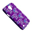 Cute Violet Elephants Pattern Galaxy S4 Active View5