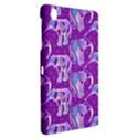 Cute Violet Elephants Pattern Samsung Galaxy Tab Pro 8.4 Hardshell Case View2