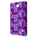 Cute Violet Elephants Pattern Samsung Galaxy Tab 4 (8 ) Hardshell Case  View2
