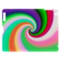 Colorful Spiral Dragon Scales   Apple iPad 3/4 Hardshell Case View1