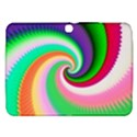 Colorful Spiral Dragon Scales   Samsung Galaxy Tab 3 (10.1 ) P5200 Hardshell Case  View1