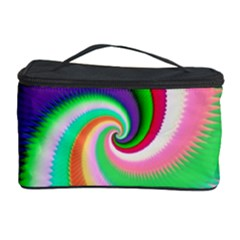 Colorful Spiral Dragon Scales   Cosmetic Storage Case by designworld65