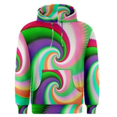 Colorful Spiral Dragon Scales   Men s Pullover Hoodie by designworld65