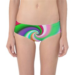 Colorful Spiral Dragon Scales   Classic Bikini Bottoms by designworld65