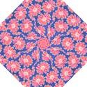 Pink Daisy Pattern Golf Umbrellas View1