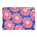 Pink Daisy Pattern Apple iPad Mini Hardshell Case (Compatible with Smart Cover) View1