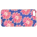 Pink Daisy Pattern Apple iPhone 5 Hardshell Case with Stand View1