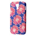Pink Daisy Pattern Samsung Galaxy S4 I9500/I9505 Hardshell Case View3