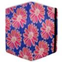 Pink Daisy Pattern Samsung Galaxy Tab 8.9  P7300 Flip Case View4