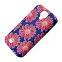 Pink Daisy Pattern Samsung Galaxy S4 Classic Hardshell Case (PC+Silicone) View4