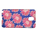 Pink Daisy Pattern Samsung Galaxy Note 3 N9005 Hardshell Case View1