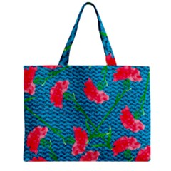 Carnations Mini Tote Bag by DanaeStudio