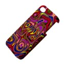 Abstract Shimmering Multicolor Swirly Apple iPhone 4/4S Hardshell Case View4