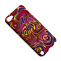 Abstract Shimmering Multicolor Swirly Apple iPod Touch 5 Hardshell Case View5