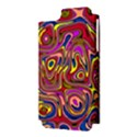 Abstract Shimmering Multicolor Swirly Apple iPhone 5 Hardshell Case (PC+Silicone) View3