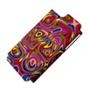 Abstract Shimmering Multicolor Swirly Apple iPhone 5 Hardshell Case (PC+Silicone) View4