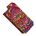 Abstract Shimmering Multicolor Swirly Apple iPhone 5 Hardshell Case (PC+Silicone) View5