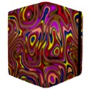 Abstract Shimmering Multicolor Swirly Apple iPad 2 Flip Case View4
