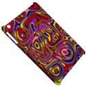 Abstract Shimmering Multicolor Swirly Apple iPad Mini Hardshell Case View5