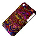 Abstract Shimmering Multicolor Swirly Apple iPhone 3G/3GS Hardshell Case (PC+Silicone) View4
