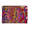 Abstract Shimmering Multicolor Swirly Apple iPad Mini Hardshell Case (Compatible with Smart Cover) View1