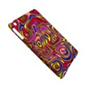Abstract Shimmering Multicolor Swirly Apple iPad Mini Hardshell Case (Compatible with Smart Cover) View5