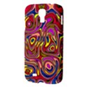 Abstract Shimmering Multicolor Swirly Samsung Galaxy S4 I9500/I9505 Hardshell Case View3