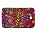 Abstract Shimmering Multicolor Swirly Samsung Galaxy Tab 3 (7 ) P3200 Hardshell Case  View1