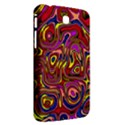Abstract Shimmering Multicolor Swirly Samsung Galaxy Tab 3 (7 ) P3200 Hardshell Case  View2
