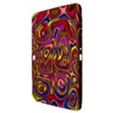 Abstract Shimmering Multicolor Swirly Samsung Galaxy Tab 3 (10.1 ) P5200 Hardshell Case  View3