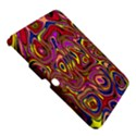 Abstract Shimmering Multicolor Swirly Samsung Galaxy Tab 3 (10.1 ) P5200 Hardshell Case  View5