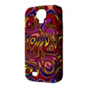 Abstract Shimmering Multicolor Swirly Samsung Galaxy S4 Classic Hardshell Case (PC+Silicone) View3