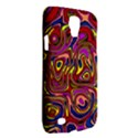 Abstract Shimmering Multicolor Swirly Galaxy S4 Active View2