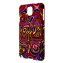 Abstract Shimmering Multicolor Swirly Samsung Galaxy Note 3 N9005 Hardshell Case View3