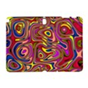 Abstract Shimmering Multicolor Swirly Samsung Galaxy Note 10.1 (P600) Hardshell Case View1
