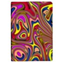 Abstract Shimmering Multicolor Swirly iPad Mini 2 Flip Cases View1
