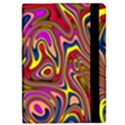 Abstract Shimmering Multicolor Swirly iPad Mini 2 Flip Cases View2