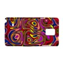 Abstract Shimmering Multicolor Swirly Samsung Galaxy Note 4 Hardshell Case View1