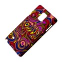 Abstract Shimmering Multicolor Swirly Samsung Galaxy Note 4 Hardshell Case View4