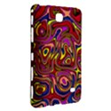 Abstract Shimmering Multicolor Swirly Samsung Galaxy Tab 4 (7 ) Hardshell Case  View3