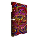 Abstract Shimmering Multicolor Swirly Samsung Galaxy Tab S (10.5 ) Hardshell Case  View3