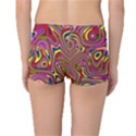 Abstract Shimmering Multicolor Swirly Reversible Boyleg Bikini Bottoms View4