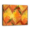 Fall Colors Leaves Pattern Canvas 14  x 11  View1